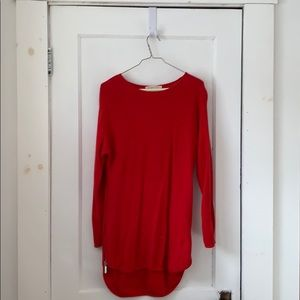 Michael Kors, Red Knit Sweater